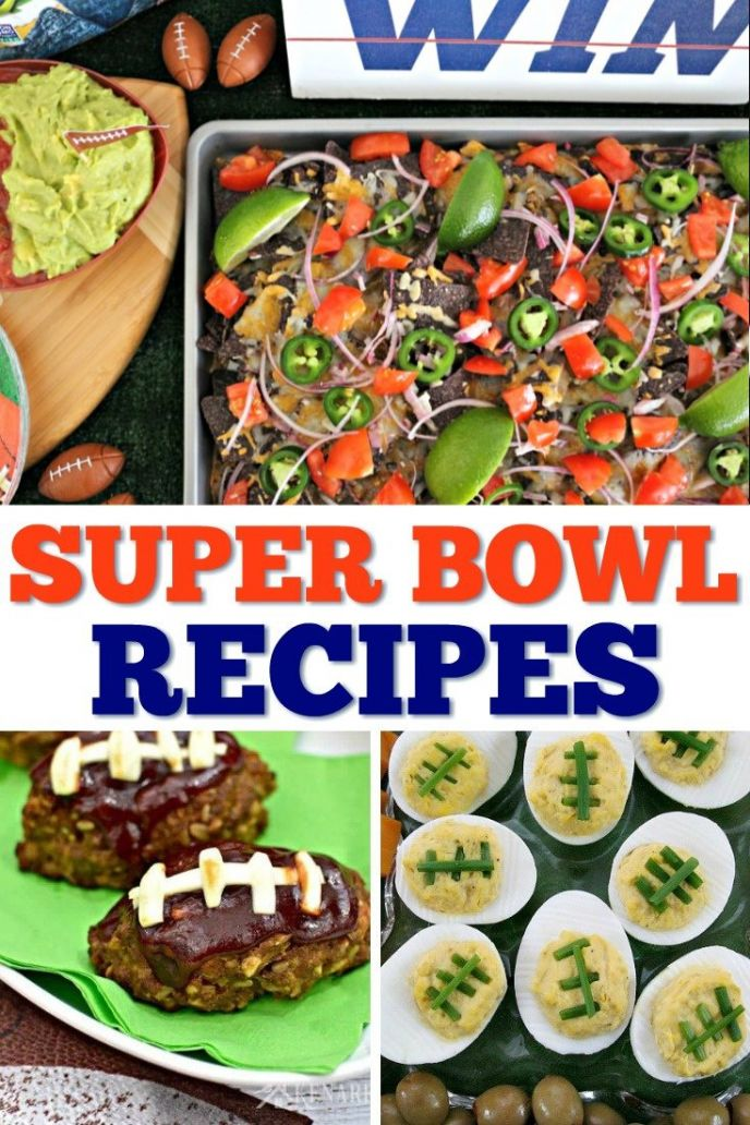 30 Super Bowl Food and Snack Recipes! Eat up with these football party food and snack recipes. CLICK to see all the delicious homegating appetizers, snacks, and hearty foods to keep your football fans fed! #football #superbowl #footballparty #partyfood #food #foods #recipe #delish #eat #partyideas #footballs #recipes #foods #appetizers