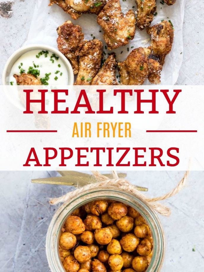 Easy healthy air fryer recipes! Cook these delicious and healthy appetizers in your air fryer! #airfryer #recipe #recipes #cooking #homecook #chef #delish #yummy #nomnom #appetizers #eating  #airfryer #recipes #chicken #chickpeas #chickenwings #food #foodie #foods #cooking #fryer #foodrecipes #friedchicken #fried #yummy #nomnom #eat #appetizer #appetizerrecipes #superbowl #football #superbowlparty #partyideas #homegating #wings #chickenwings #party
