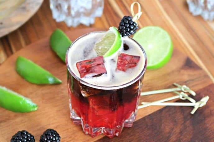 Blackberry Brew Beer Cocktail Recipe