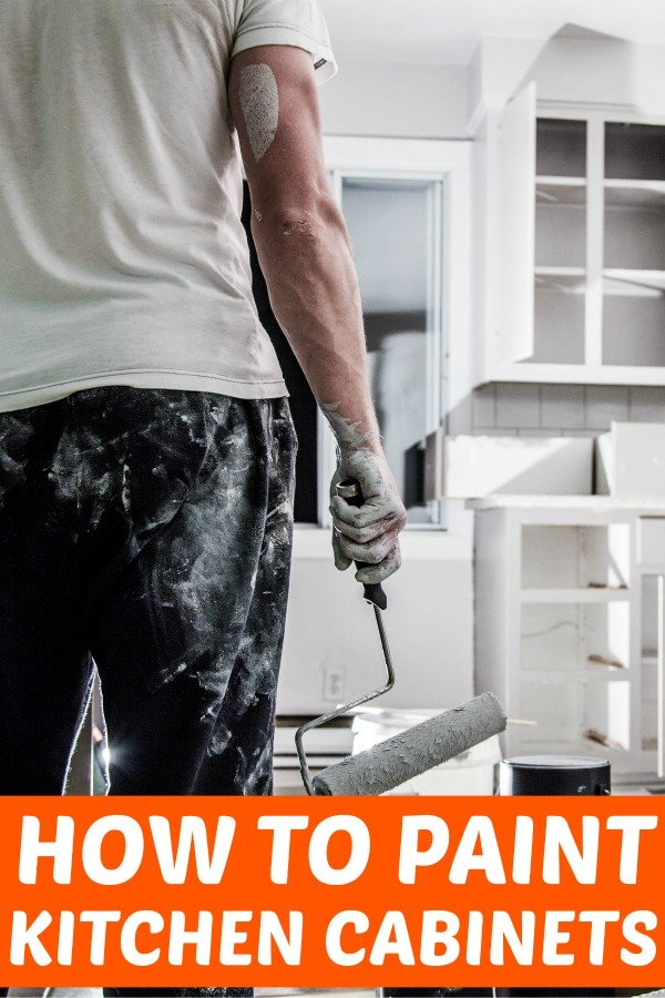 DONE with your UGLY kitchen cabinets? Learn how to paint kitchen cabinets with step-by-step instructions! Take charge and update your home with the ease of painting cabinetry. #painting #update #home #diy #renovation #diys #diyideas #kitchen #kitchencabinets #cabinets #paint