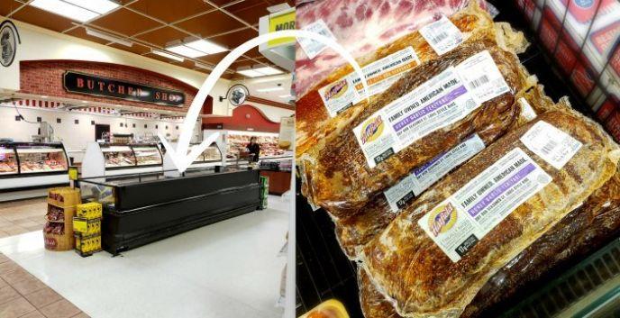 Hatfield ribs at Price Chopper Supermarket