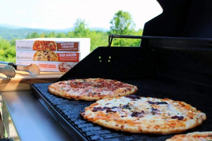 American Flatbread Frozen Pizza Grilled