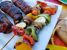 Grilled Veggie Kabobs Recipe