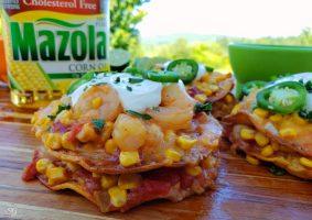 Crunchy Shrimp Tostadas Recipe - easy recipe to follow