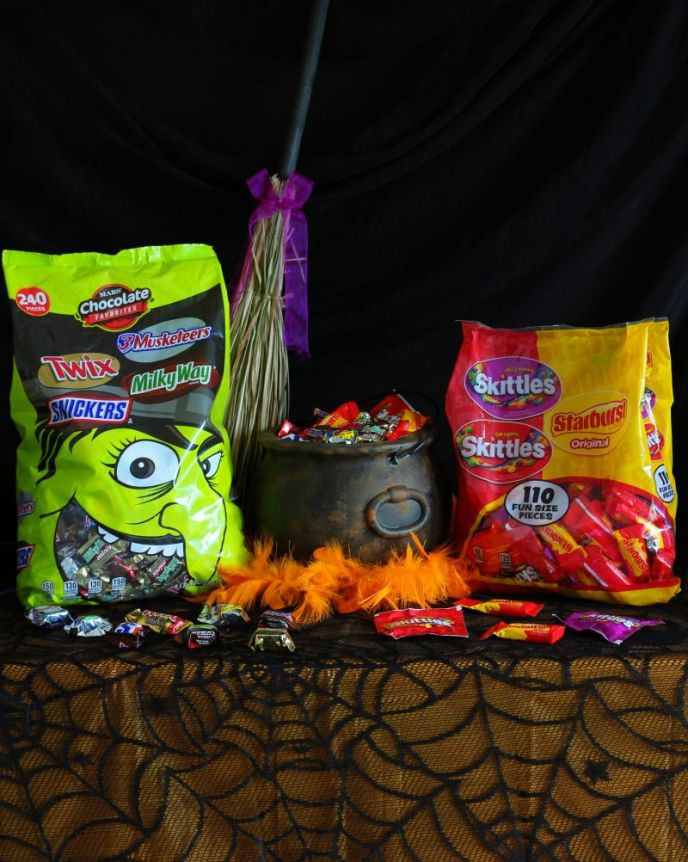Making a faux rusty Halloween cauldron #FlauntYourHaunt