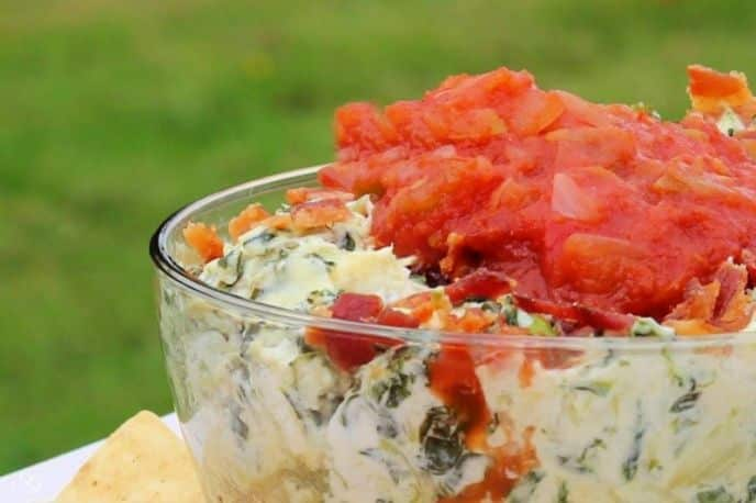 Spinach Artichoke Dip Recipe – Creamy, Cheesy, Baked, and Easy!