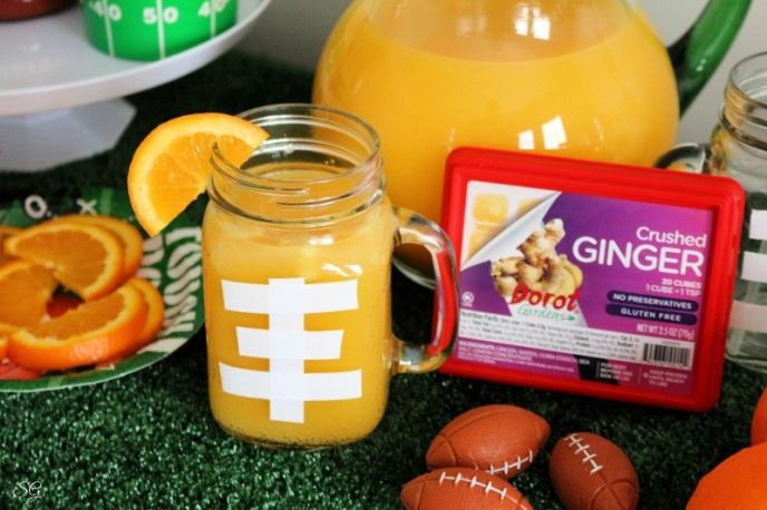 Ginger Punch - Football Party Food Ideas