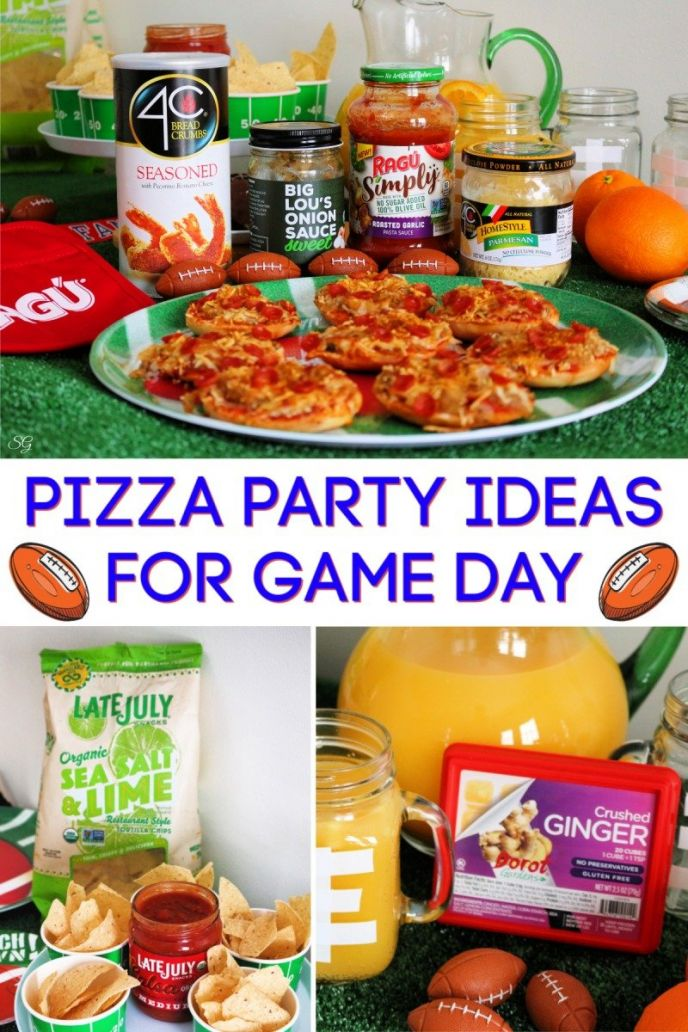 Pizza Party Ideas for Game Day #BigGameEatsBBxx