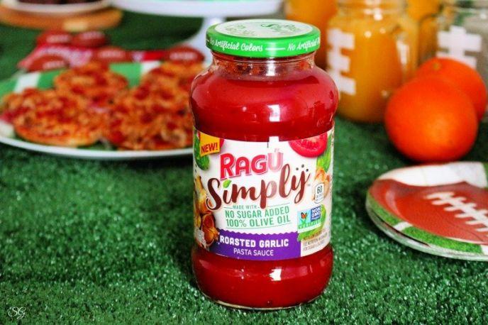 Ragu sauce for bagel pizzas
