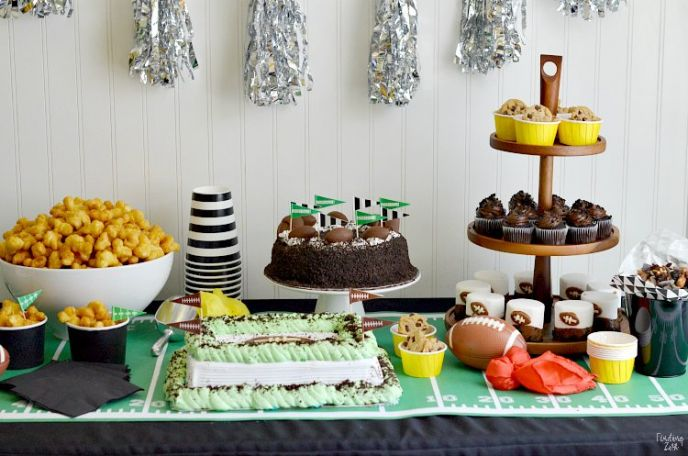 Super Bowl Party Dessert Food