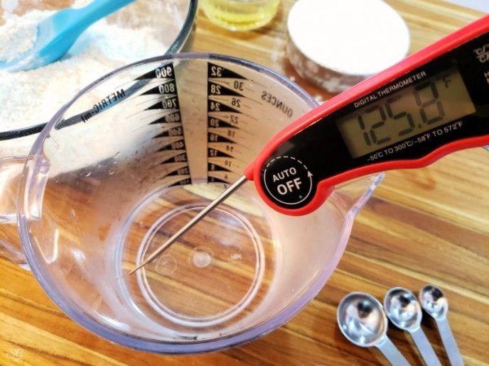 Yeast water temperature for pizza